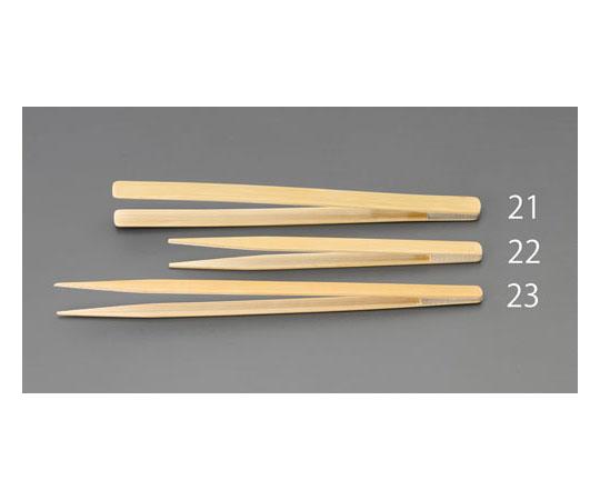 竹製ピンセット(先細) 1.0x200mm EA595GC-23