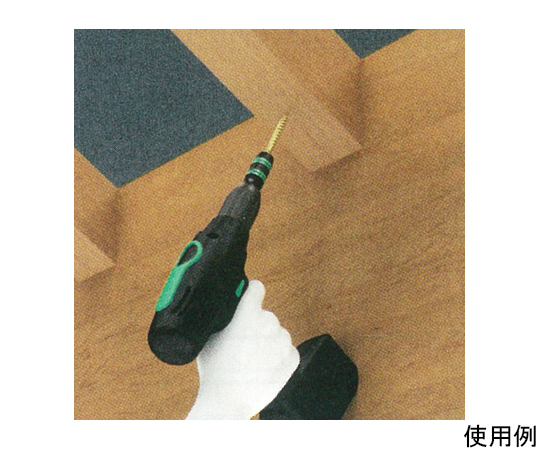 """ラピッド式ビットホルダー(マグネット付) 1/4""""Hex/57mm EA611AX-26"""