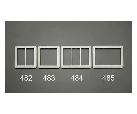 スイッチプレート [2連接穴用] EA940CD-483