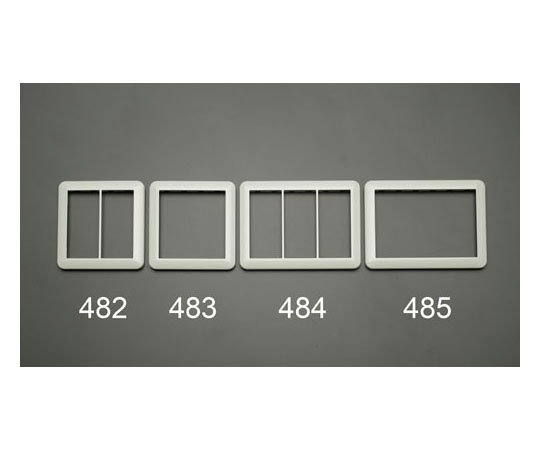 スイッチプレート [3連用] EA940CD-484