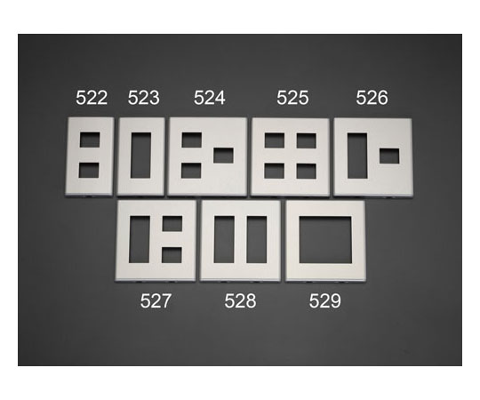 コンセントプレート[メタル製] [2連用/4コ用] EA940CD-525