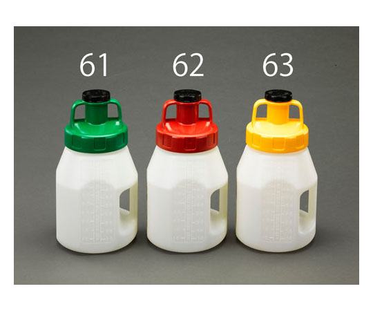 オイルディスペンスボトル(ふた付/グリーン) 5L EA991GS-61
