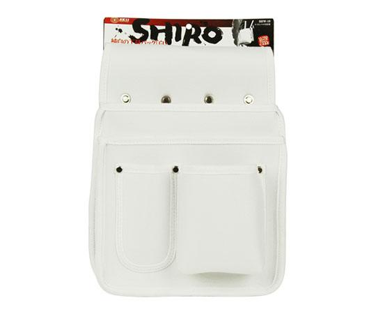[受注停止]SK11 白ナイロンマチ付釘袋