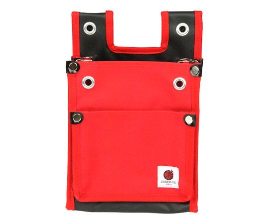 SK11 帆布鳶用腰袋2段BS 赤