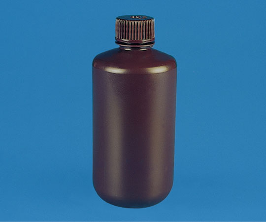 褐色細口試薬瓶 HDPE製 1000mL