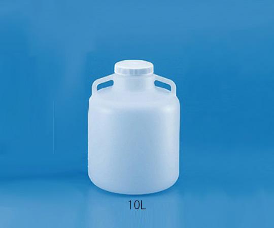 広口大型瓶 PP製 10L 583351