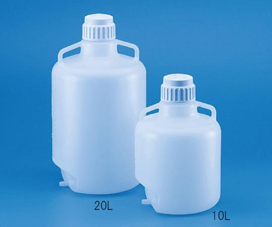 広口大型瓶 注出チューブ加工 PP製 20L 585390