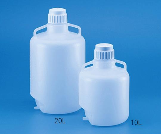 広口大型瓶 注出チューブ加工 LDPE製 10L 586380
