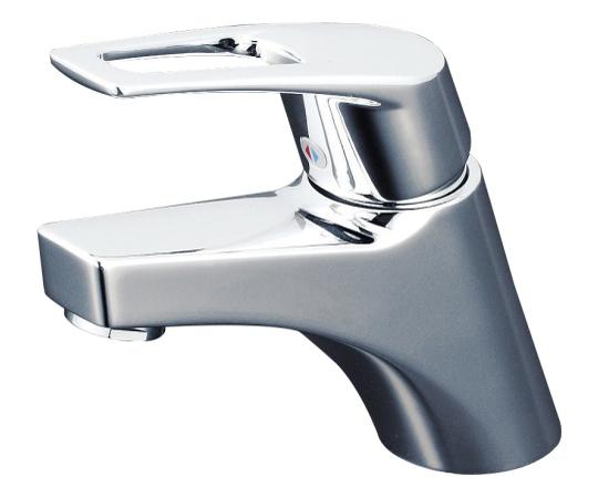 洗面 湯側回転角度規制