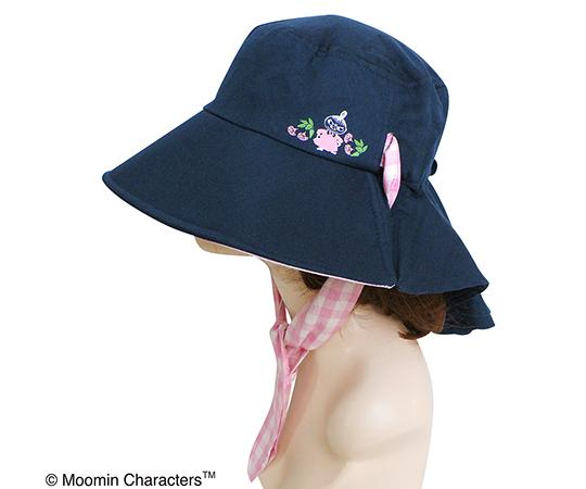 [取扱停止]ムーミンつば広帽子 フラワーピンク ST-IM0020