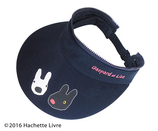 [取扱停止]リサ&ガスパール 3WAY帽子 ピンクチェック ST-IG0003