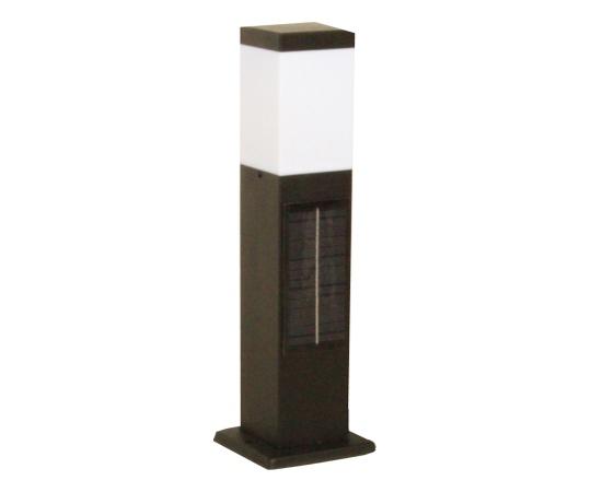 [取扱停止]ソーラーポールライト 白色LED ブラック SPL-SL-WHB ソーラーポールライト