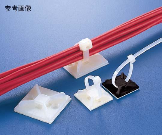 MB マウントベース(屋内用)テープ付 10.0×2.5mm 乳白 MB5A-JB 100コ