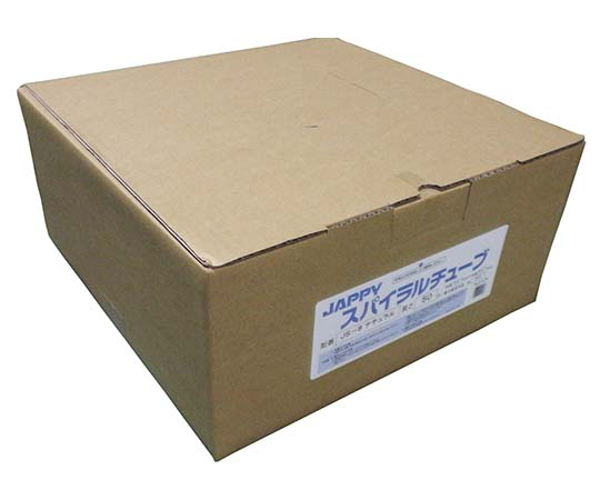 スパイラルチューブ 乳白色 8.0mm JS-8    スパイラルチューブ 50M