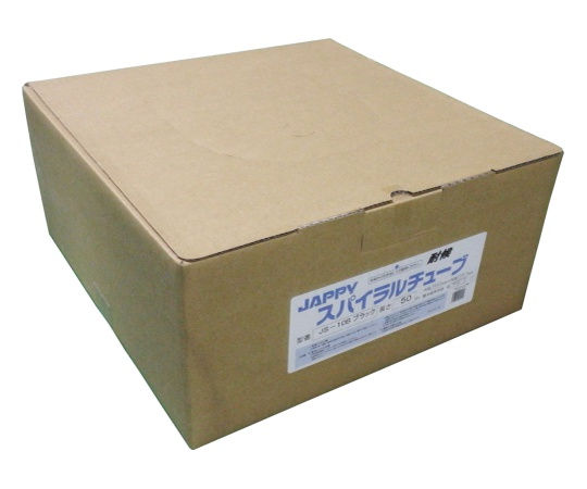スパイラルチューブ 黒 10.0mm JS-10B  スパイラルチューブ 50M