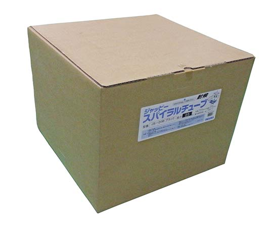 スパイラルチューブ 黒 20.0mm JS-20B  スパイラルチューブ 25M