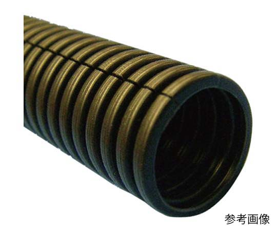 コルゲートチューブ 黒 スリット入 25.0mm JCOT-25N 20M コルゲートチューブ
