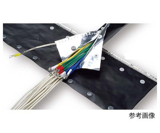 ノイズシールドチューブ 40mm スナップボタンタイプ RoHS2対応 JNST-40H (25M) ノイズシールドチューブ