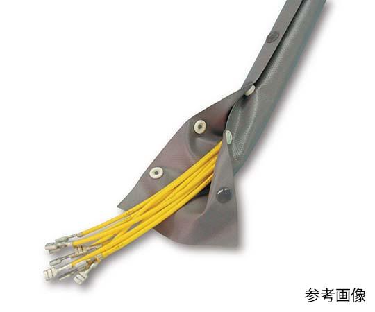 ホック付チューブ 難燃 20mm JHN-20 ホックチューブ