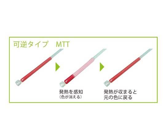 サーモタイ 発熱監視用タイ MTT-S-黒 MTT-S-クロ 30イリ アトズケサーモタイプ