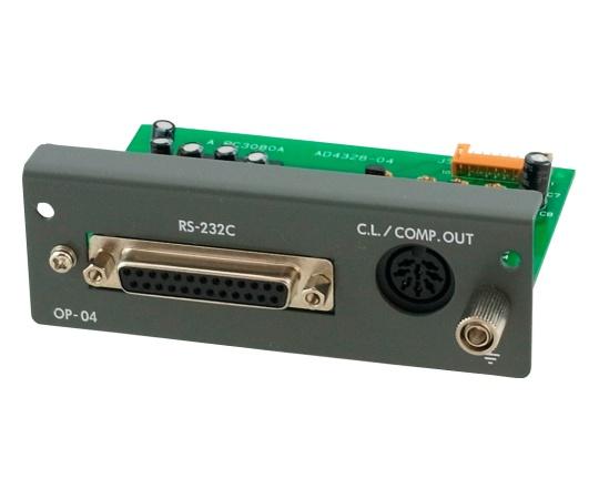 AD-4328用RS-232C入出力+カレントループ+リレー出力 AD4328-04JA