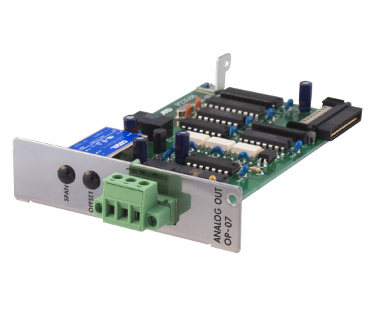AD-4402/AD-4404用アナログ出力(4~20mA) AD4402-07