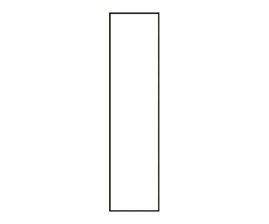 氏名標識用白無地札(スペア) 120×30mm 10枚組 アクリル