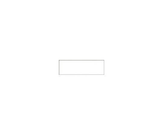 流体識別ステッカー貼付用白無地プレート 40×120mm エンビ 173300