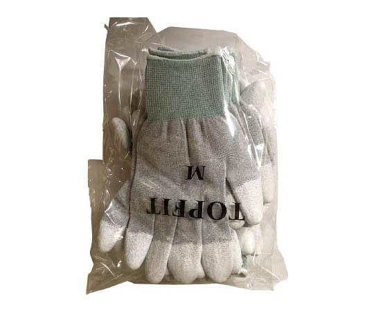 制電カーボン指先ウレタン手袋10双組 M 701M