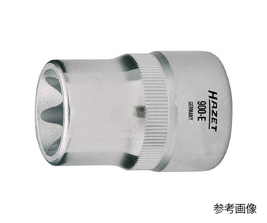 E型トルクスソケット E14 対辺寸法12.90 差込角12.7