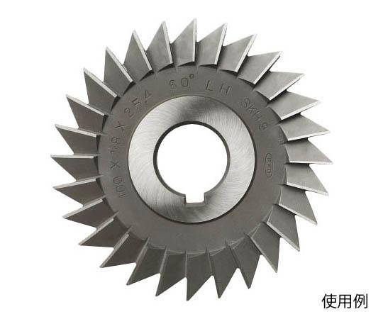 シングルアングルカッター(左刃)45°×125×10×25.4 ACLH45X125X10X25.4