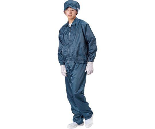 ジャケット(衿付)-紺-L BSC-41001-N-L