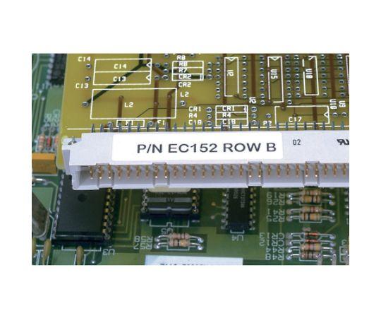 レーザープリンター用ラベル コンポーネントラベル 幅 19.1mm x 高さ6.4mm ポリエステル 白 10,000 枚入り C075X025YJJ