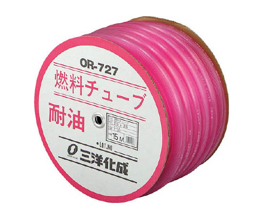 耐油燃料チューブ 22×28 15mドラム巻
