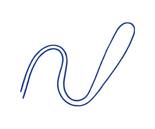 丸紐 100本 青