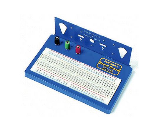 部品リード線を差すだけで回路が組み立てられるブレッドボード SRH21B