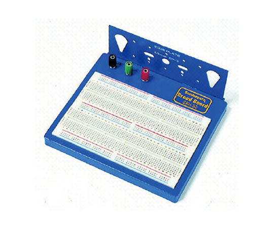 部品リード線を差すだけで回路が組み立てられるブレッドボード SRH32