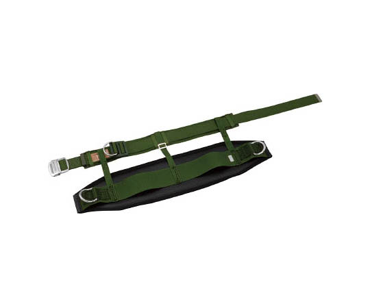 胴ベルト型安全帯傾斜面用 緑