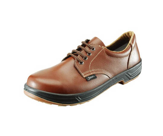 安全靴 短靴 SS11茶 25.5cm