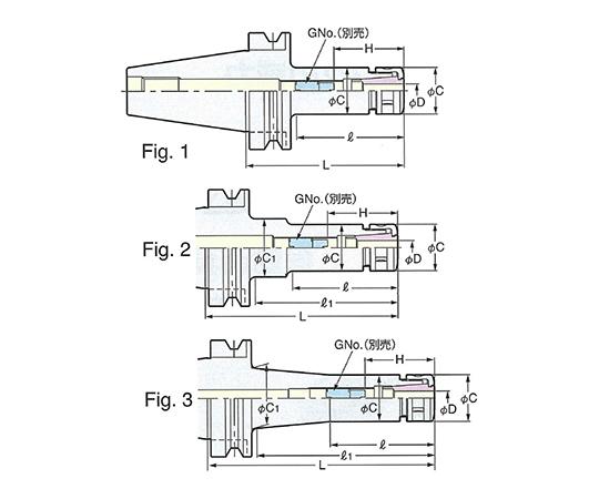 スリムチャック BT40-SK10-250