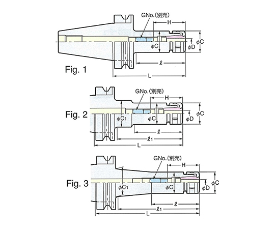スリムチャック BT30-SK13-75