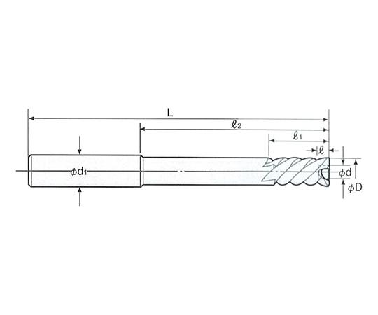 底付き用 NCセンサーリーマ ストレートシャンク NCS-6.0F
