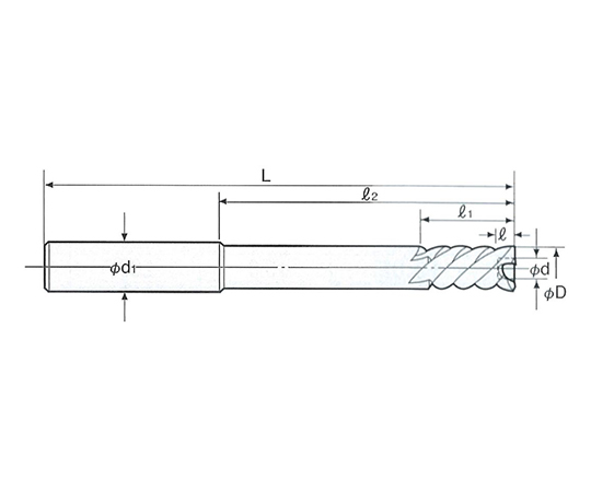 底付き用 NCセンサーリーマ ストレートシャンク NCS-74.0F