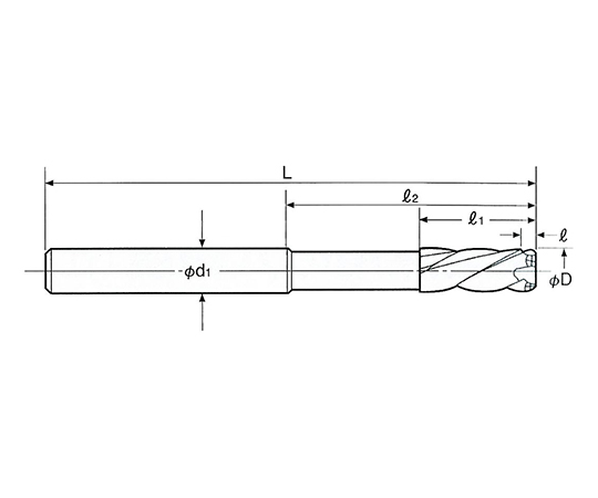 超硬ラジカルミルリーマ ストレートシャンク RMSS-8.0