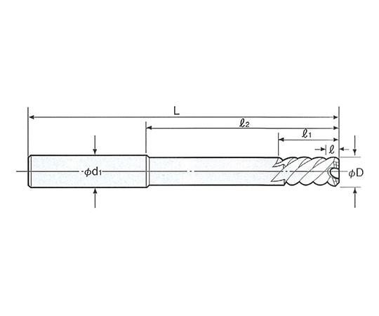 タフカットスキルリーマ ストレートシャンク SRS-14.0