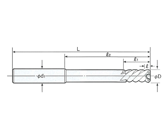 タフカットスキルリーマ ストレートシャンク SRS-8.0