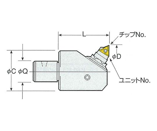 BCBモジュラーヘッド 16-BCB38-55