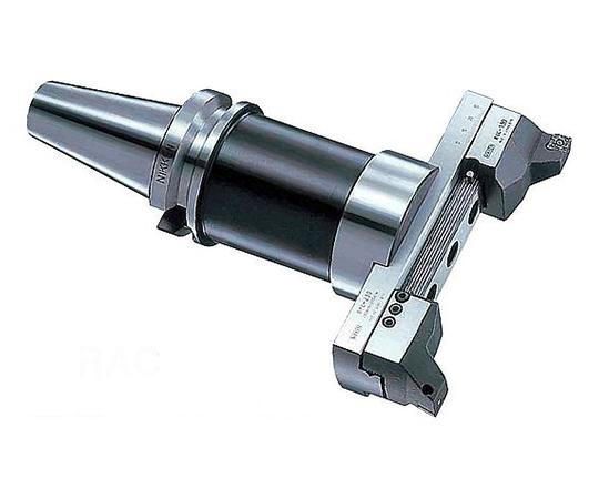 バランスカット大径用ボーリングバー(鉄・鋳物重切削用 BT40-RAC180-205