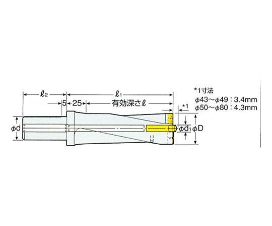 コンバットZドリル用パイロットドリル 9CMD12