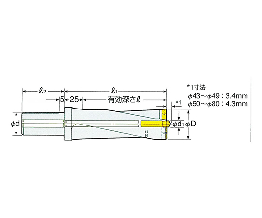 コンバットZドリル用パイロットドリル 9CMD6